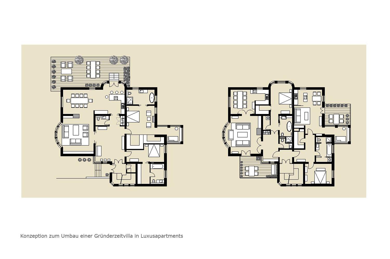 Räume Portfolio Villa